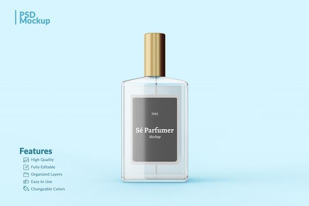 Makieta Edytowalnej Butelki Perfum Premium Psd