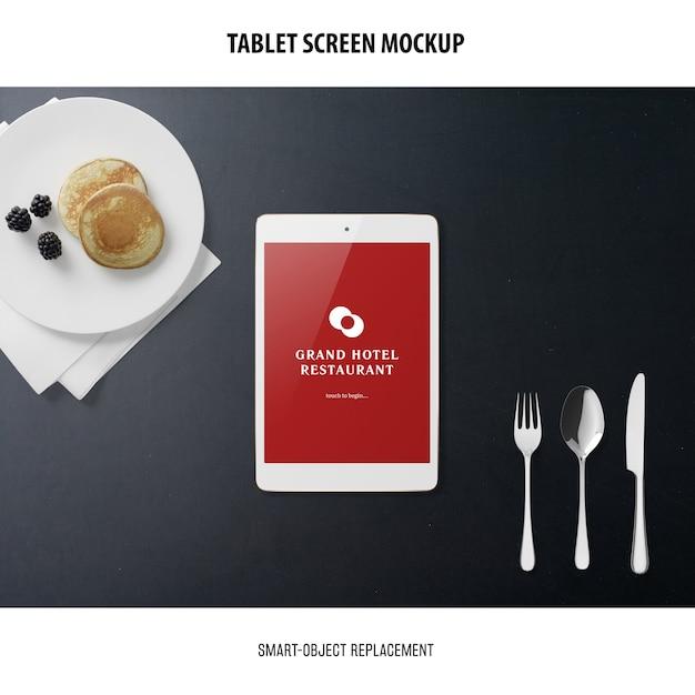 Makieta Ekranu Tabletu Darmowe Psd