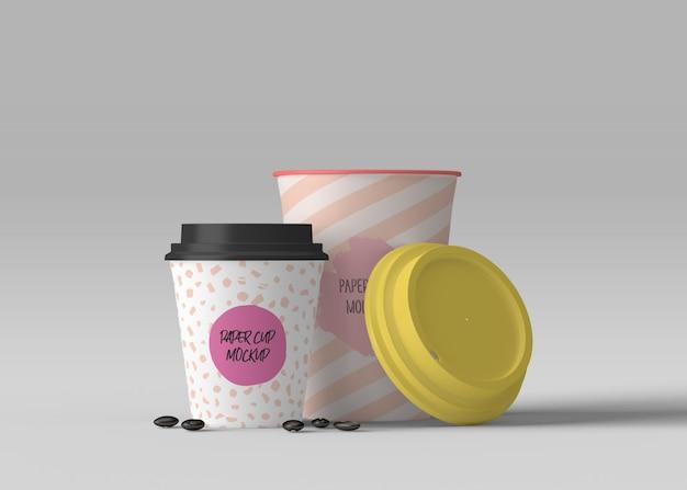 Makieta Filiżanki Kawy Premium Psd