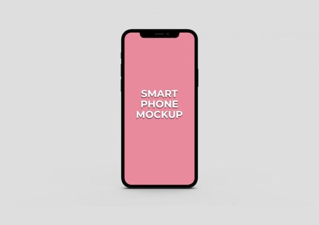 Makieta Inteligentnego Telefonu Z Przodu Premium Psd