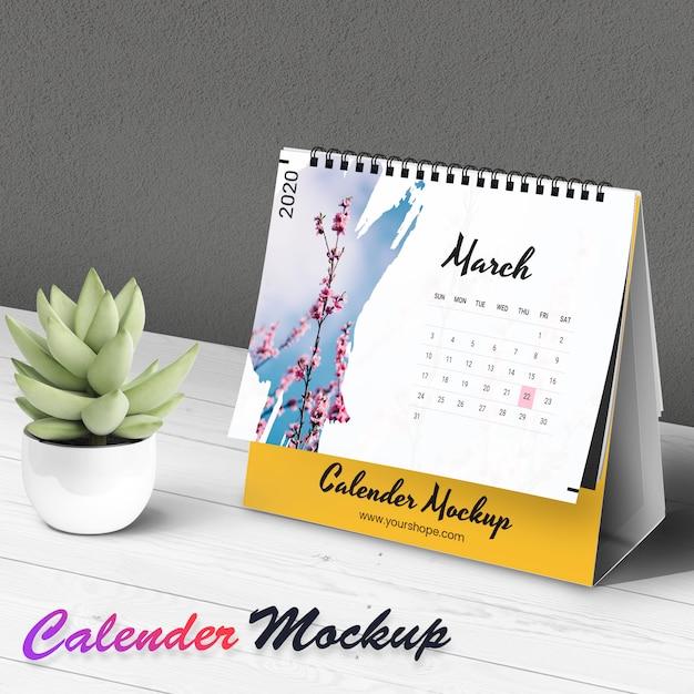 Makieta kalendarza Premium Psd