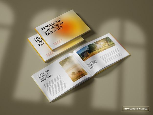 Makieta Katalogu Poziomego Premium Psd