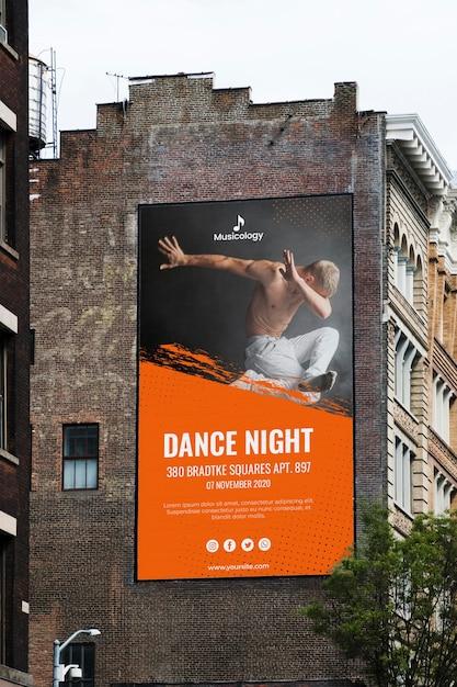Makieta Koncepcja Znak Billboardu Darmowe Psd