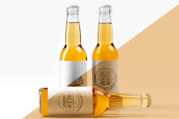 Makieta Koncepcji Aranżacji Piwa Rzemieślniczego Darmowe Psd