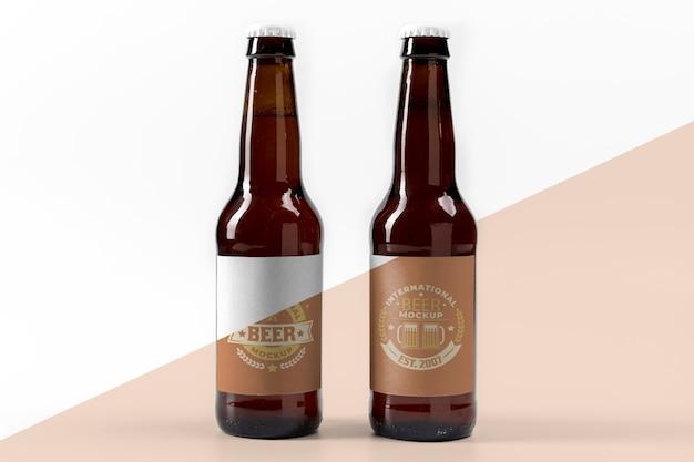 Makieta Koncepcji Piwa Rzemieślniczego Premium Psd