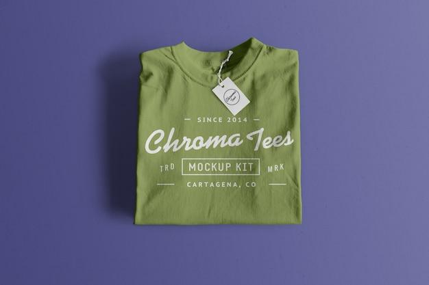 Makieta Koszulki Chromatees Darmowe Psd