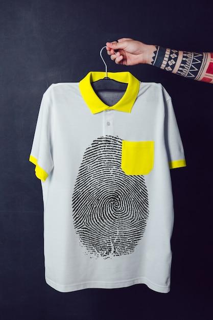 Makieta Koszulki Polo Premium Psd