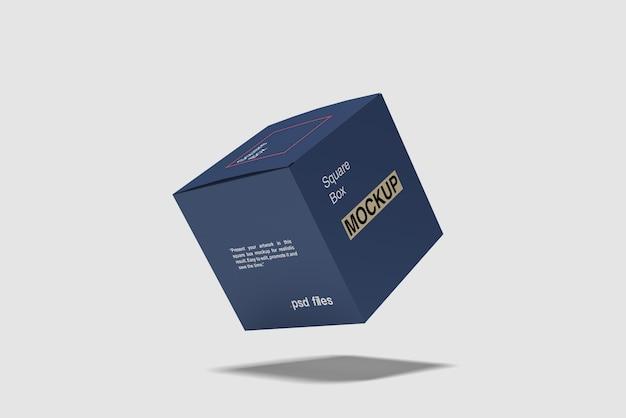 Makieta Latającego Kwadratu Premium Psd