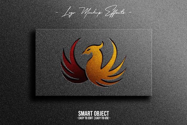 Makieta Logo Z Phoenix Darmowe Psd