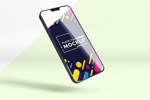 Makieta Nowej Prezentacji Telefonu Premium Psd