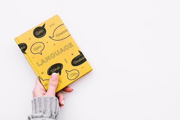 Makieta okładki książki Darmowe Psd