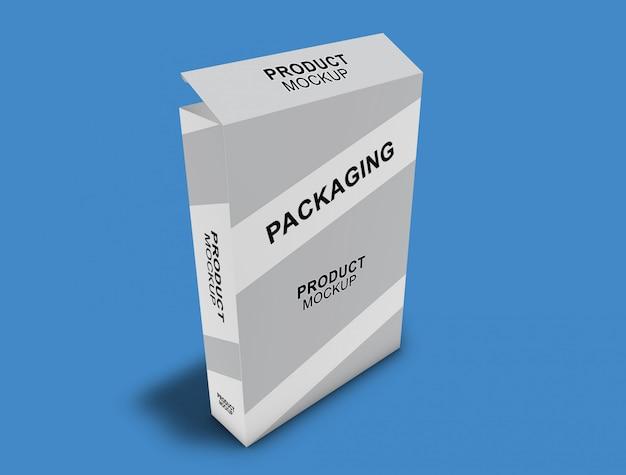 Makieta opakowań kartonowych Premium Psd