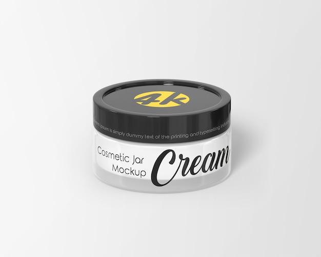 Makieta Opakowania Kremu Kosmetycznego Premium Psd