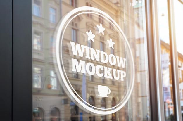 Makieta Oznakowania Okna Premium Psd