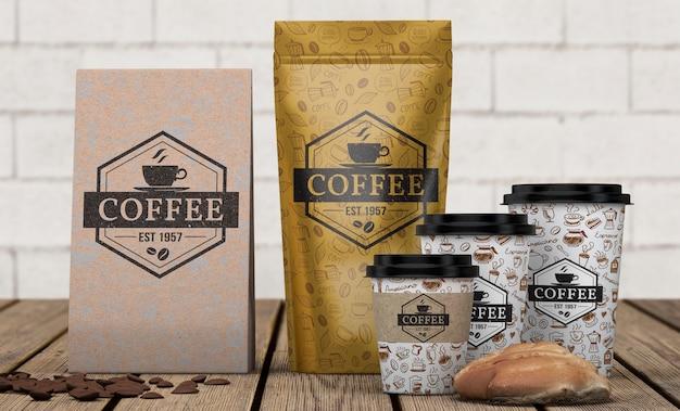 Makieta Papiernicze Do Kawiarni Darmowe Psd