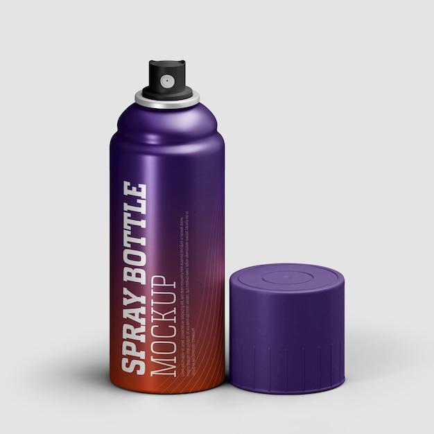 Makieta Perfum W Sprayu Man Premium Psd