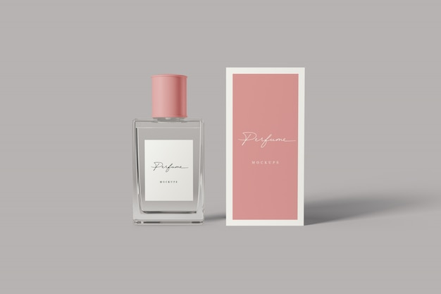 Makieta Perfum Premium Psd