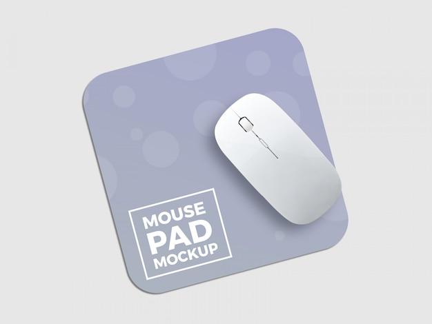 Makieta podkładki pod mysz Premium Psd