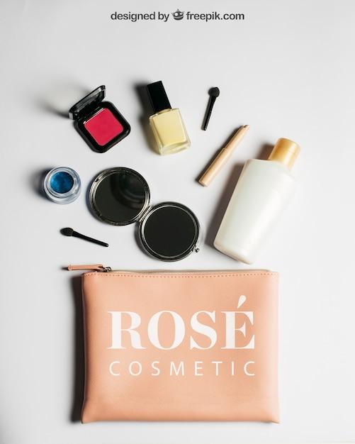 Makieta Produktów Kosmetycznych Darmowe Psd
