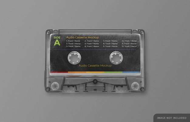 Makieta Retro Kasety Magnetofonowej Premium Psd