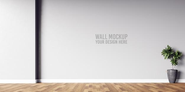 Makieta ściany Wewnętrznej Premium Psd