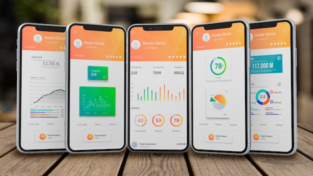 Makieta Smartfona Dla Aplikacji Premium Psd