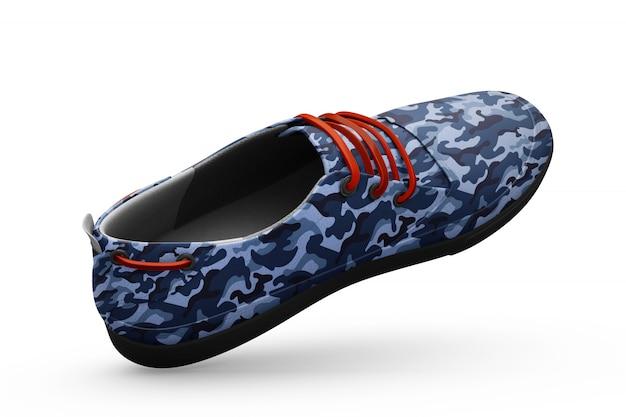 Makieta sport butów na białym tle Darmowe Psd
