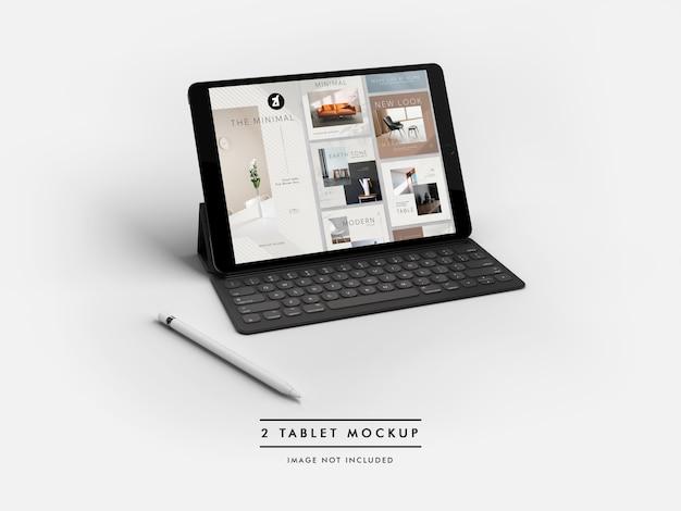 Makieta Tabletu I Generator Scen Premium Psd