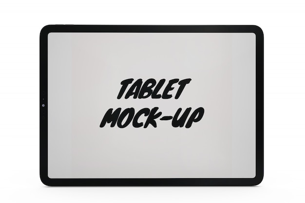Makieta tabletu na białym tle Darmowe Psd