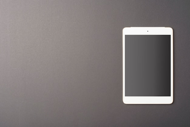 Makieta Tabletu Na Czarnym Tle Premium Psd