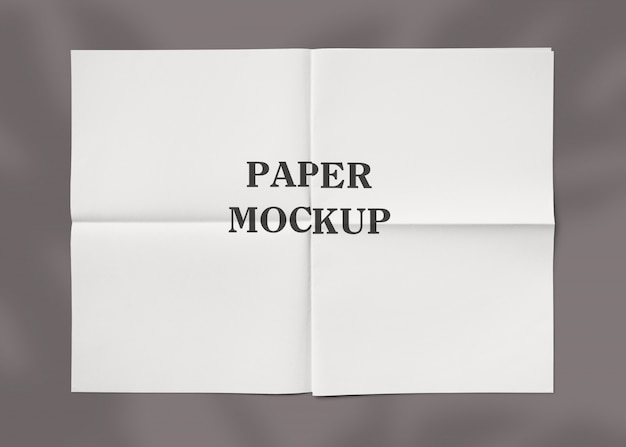 Makieta Tekstury Pomarszczonego Papieru Premium Psd