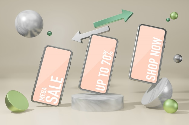 Makieta Telefonu Komórkowego Darmowy Twórca Makiety Scen Psd Premium Psd