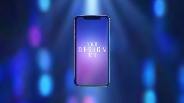 Makieta telefonu komórkowego Premium Psd