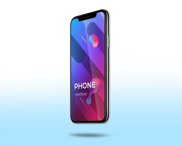 Makieta telefonu Premium Psd