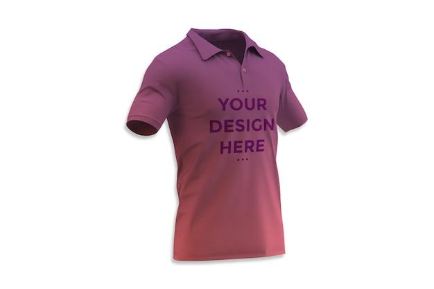 Makieta Wizytówki Koszulki Polo Premium Psd