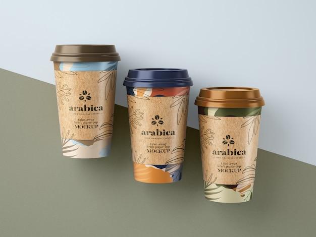Makieta Zabierz Papierowy Kubek Do Kawy Premium Psd