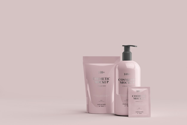 Makiety Produktów Kosmetycznych Premium Psd