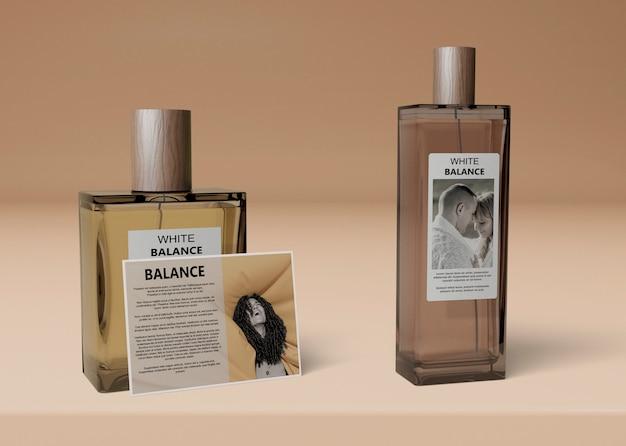 Makiety Różnych Kształtów Butelek Na Perfumy Darmowe Psd