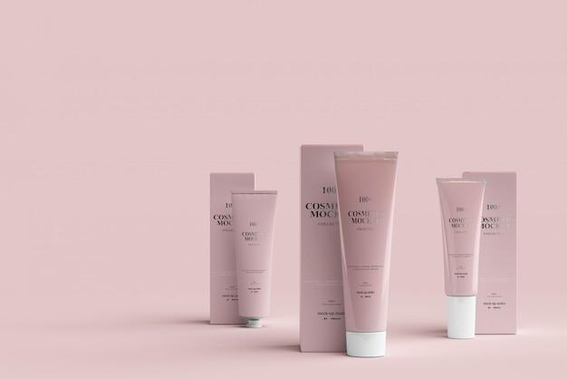 Makiety Tuby Kosmetycznej Premium Psd