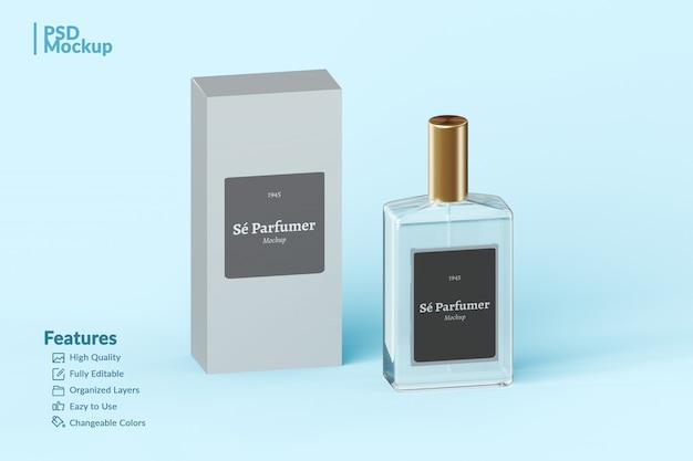 Markowa Butelka Perfum I Makieta Do Edycji Premium Psd