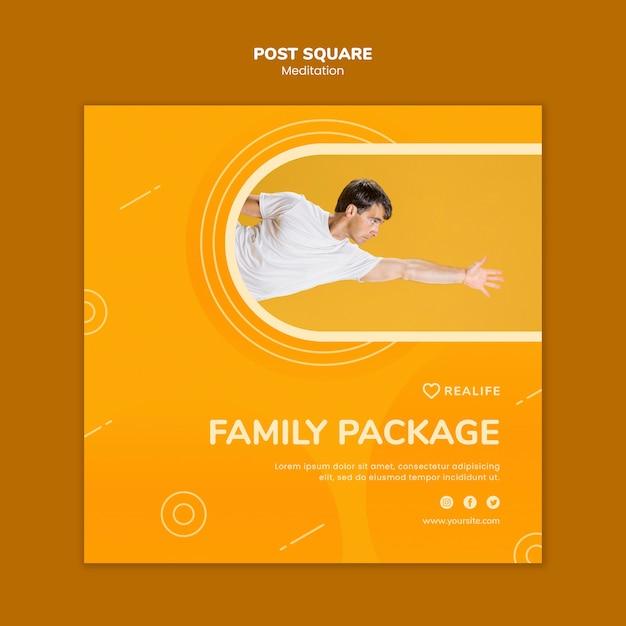 Medytacja Pakiet Rodzinny Po Placu Darmowe Psd