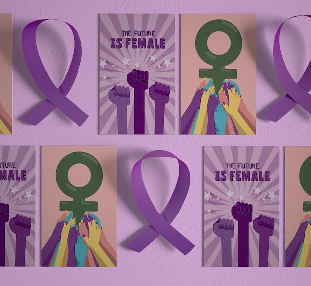 Międzynarodowy Dzień Kobiet Z Makietą Darmowe Psd