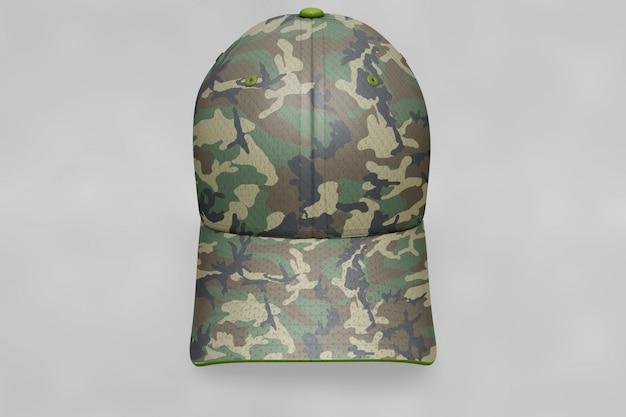 Mockup wojskowych czapek Darmowe Psd