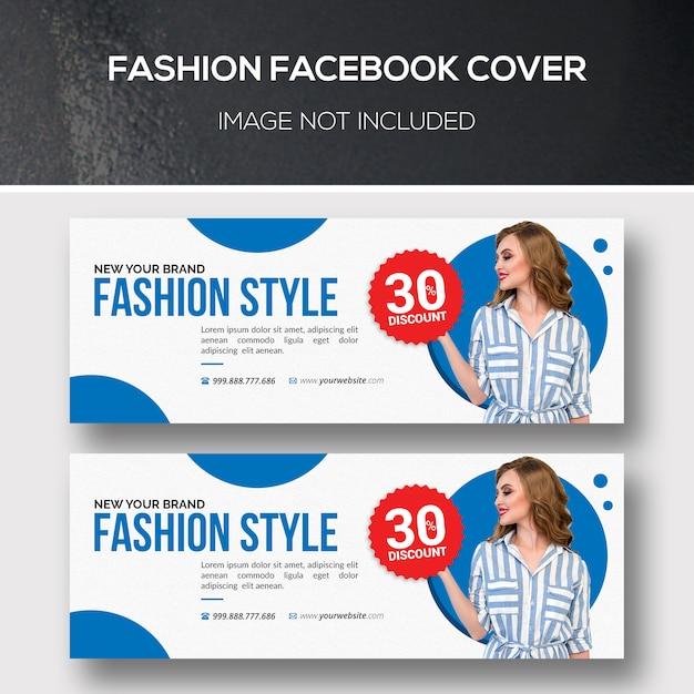 Modna Okładka Na Facebooku Premium Psd