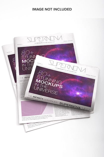 Newspapper Psd Makieta Premium Psd