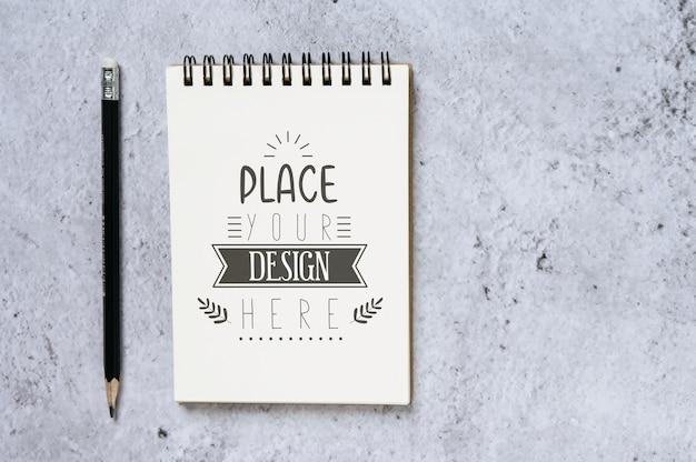Notebook Z Miejscem Do Pracy Darmowe Psd