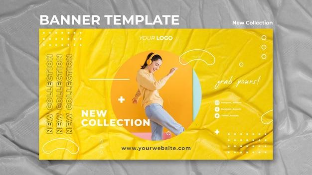 Nowy Szablon Transparent Koncepcja Kolekcji Darmowe Psd