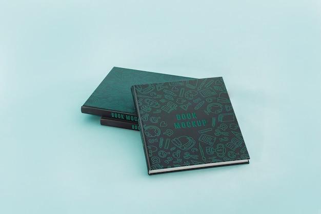 Okładka książki mocku Darmowe Psd