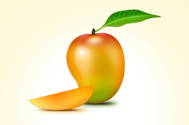 Owoce mango psd ikona Darmowe Psd
