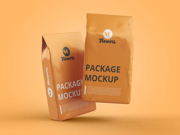 Pakowanie Makiety Pliku Psd Premium Psd
